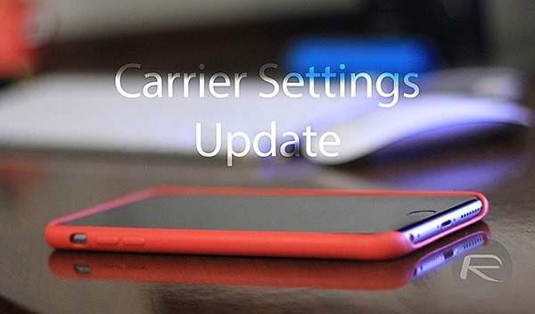 carrier setting update iphone network not available
