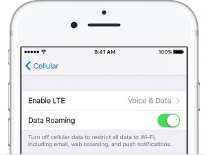 cellular data to fix iphone network issue 2