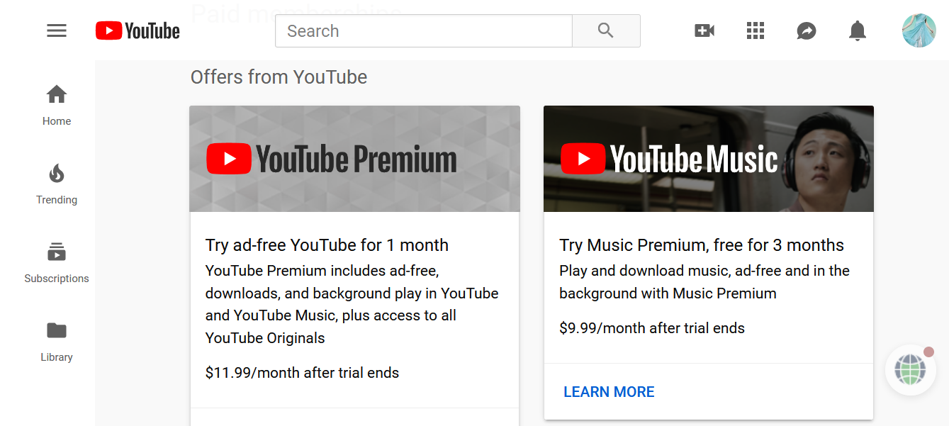 how to cancel youtube premium membership step by step