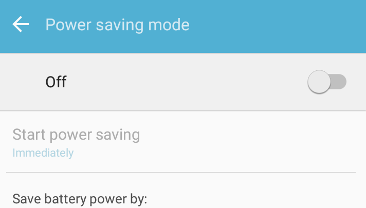 save battery power off it to fix wifi problems in samsung