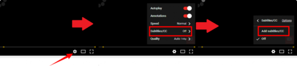 how to add subtitles to other youtube video step (1)