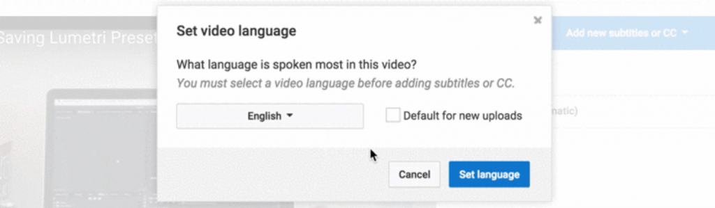 how to add subtitles to youtube videos (1)
