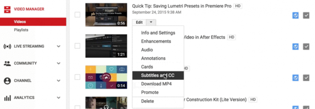 how to add subtitles to youtube videos (4)