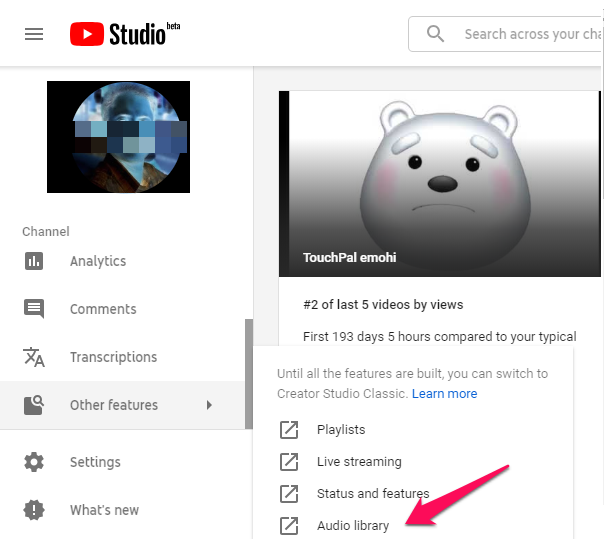 step 2 how to put music on youtube videos without facing copyrighted issue