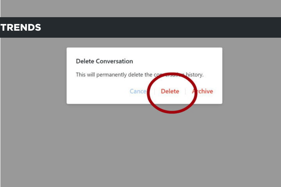 how to delete messages from Facebook Messenger (3)