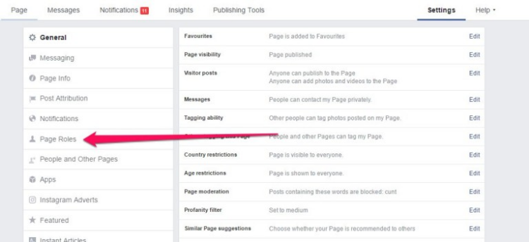 how to make someone an admin on Facebook page who is not your friend (1)