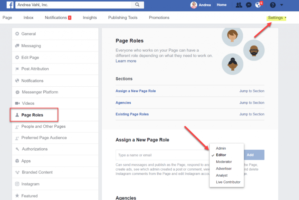 how to make someone an admin on facebook page (1)