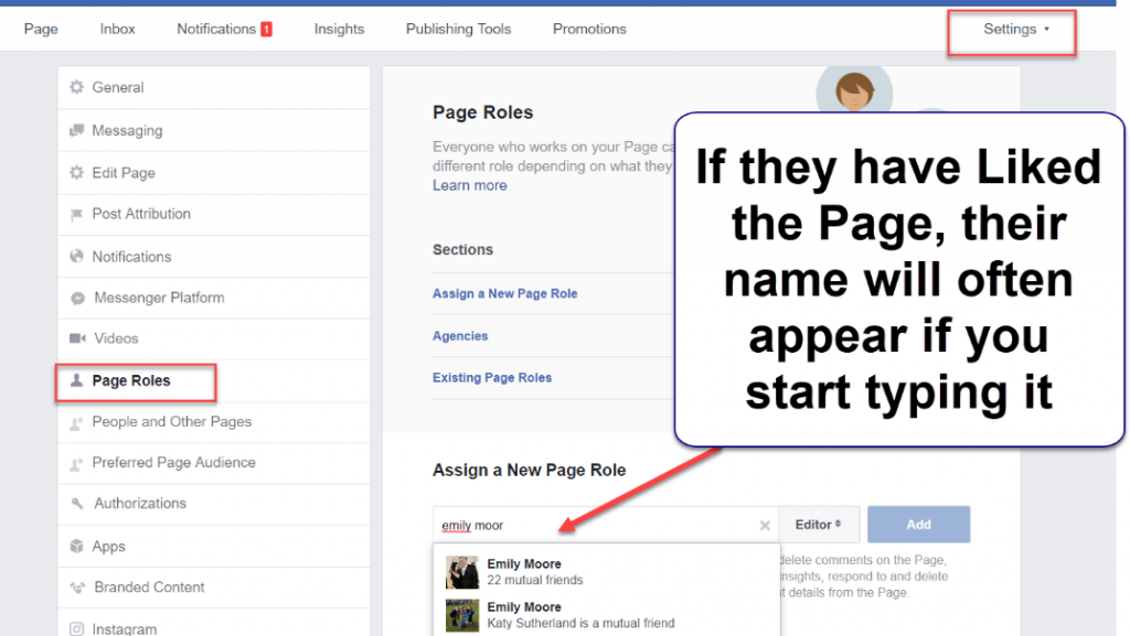 how to make someone an admin on facebook page (2)