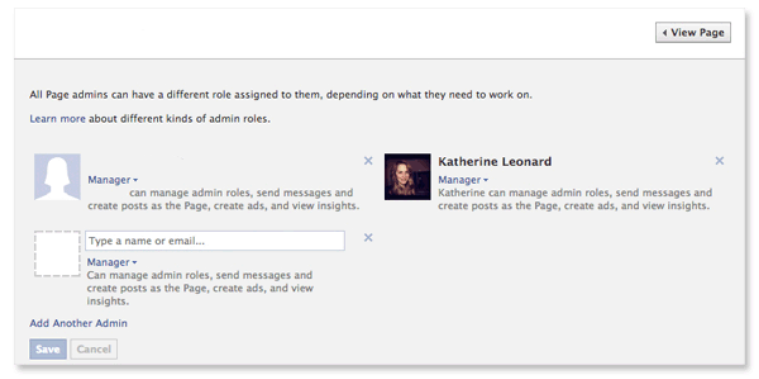 how to remove yourself as an admin of Facebook page (1)