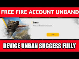unban free fire game imei